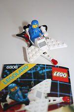 * LEGO 6808 Space Classic Raumfahrt aus 80er Jahren mit Bauanleitung *