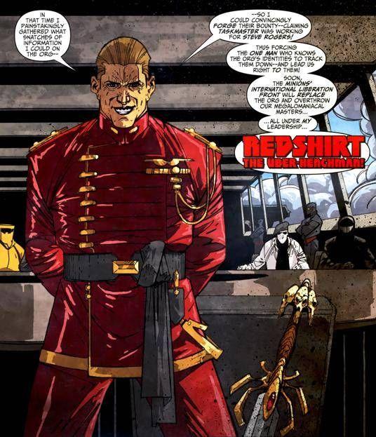 Redshirt, the Über Henchman (Part of the Secret Empire ...