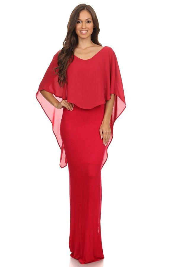 Fierce Elegance Maxi Dress