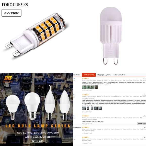 New G4 Cob Led Bulb Acdc 12v 6w Ac220v 6w 10w Led G4 Lamp Crystal Led Light Bulb Lampada Lampara Bombilla Ampoule Led G4 3w 4w Ampoule Ampoule Led