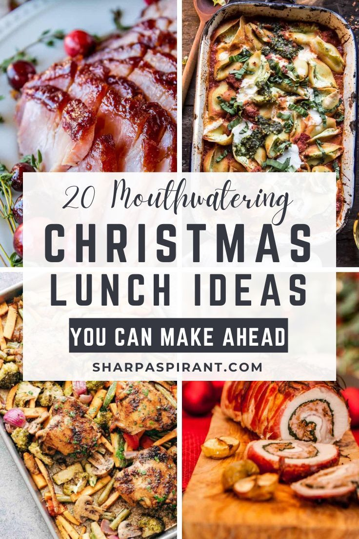 20 Delicious Christmas Lunch Ideas You Can Meal Prep Sharp Aspirant In 2020 Christmas Lunch Dinner Meal Prep Meal Prep