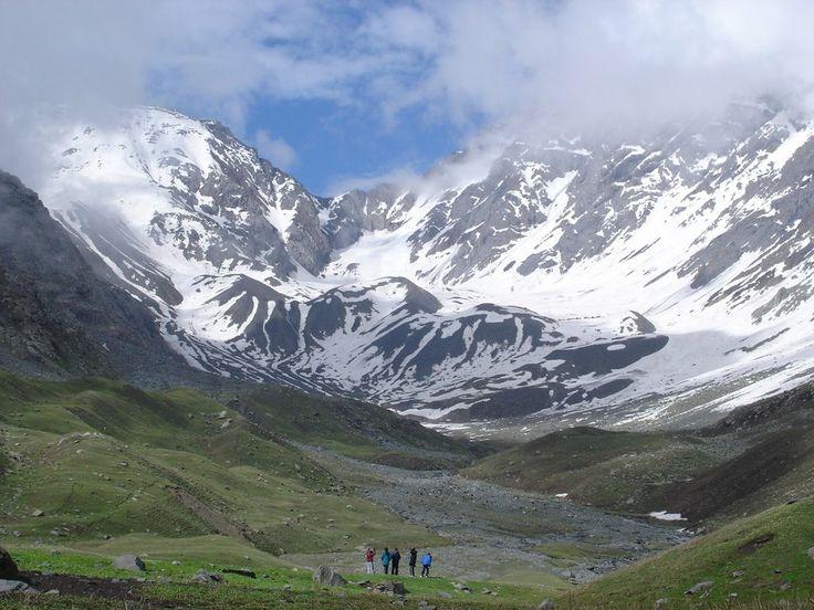 Kugti Pass..Barmhour Himachal Pradesh, India .