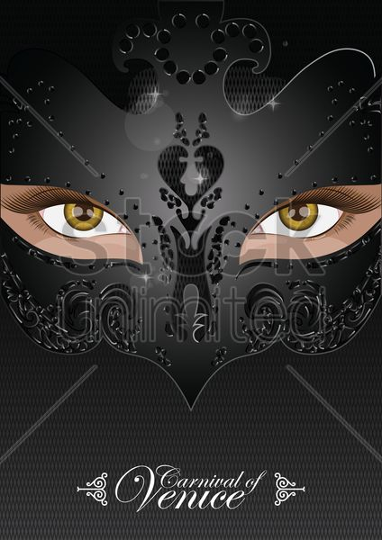 carnival of venice Stock Vector