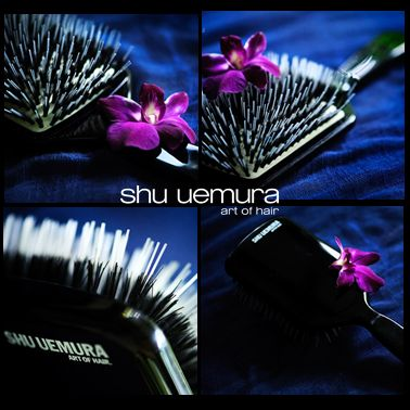 Na het gebruik van de paddlebrush is het haar direct glanzender en zachter van aanzet tot aan de punten. #shuuemuraartofhair #paddlebrush