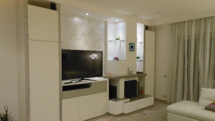 Pittura decorativa per interni cangiante effetto sabbia for Ambienti interni moderni