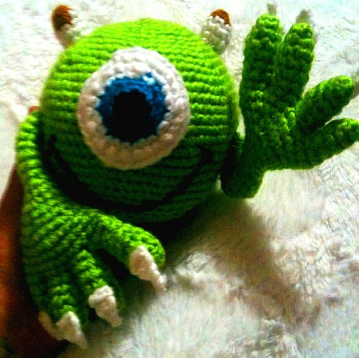 Amigurumi Monsters Inc : 17 Best images about Mis creaciones ? on Pinterest Cats ...