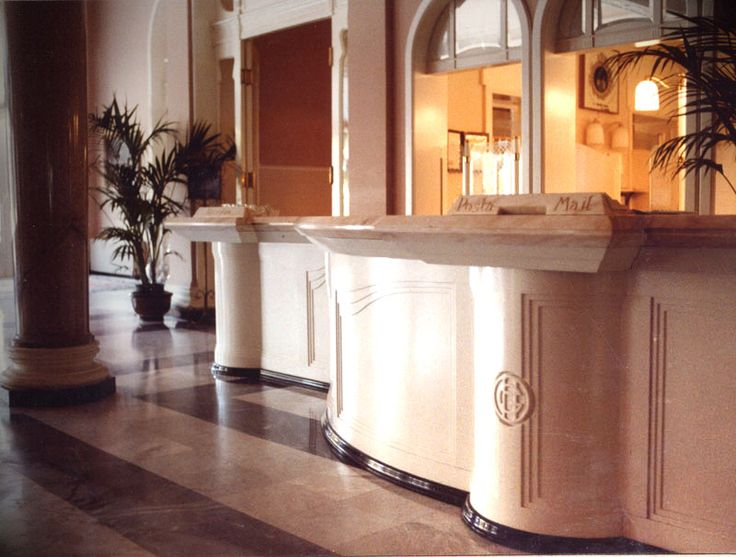 PORTFOLIO: Grand Hotel Rimini, Rimini. In the nineties we projected the hall, the outdoor swimming pool and the suites