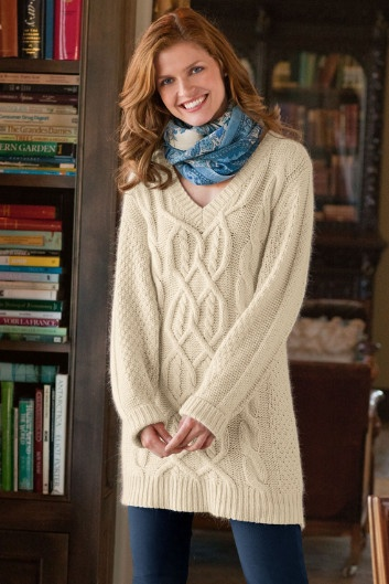 My Guy's Sweater - Cable Knit Sweaters For Women, Sweaters & Cardigans, Clothing | Soft Surroundings