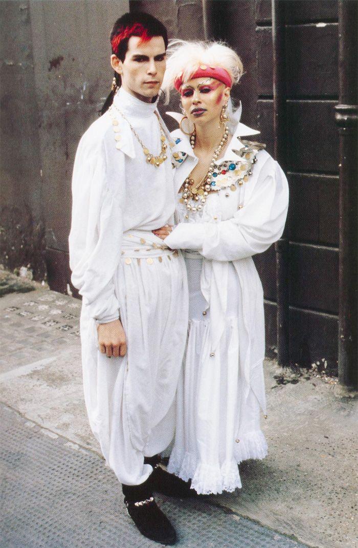 New Romantics in London 1981 photo by Derek Ridgers.
