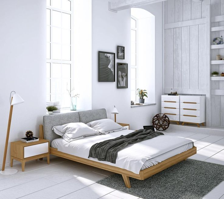 "10.9k Likes, 38 Comments - Interior & More (@interiormilk) on Instagram: ""Mikkel Bed by ✨ @roveconcepts  Wake up in a modern bedroom @roveconcepts by Danish design.…"""