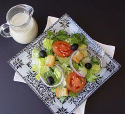 Restaurant recipes for salad dressing are some of the best, and Olive Garden's salad dressing is no exception. You can now replicate their amazing salad with this copycat recipe for an Olive Garden Salad With Homemade Dressing.