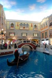 We lived in Vegas for almost a year and Nick NEVER took me on a gondola ride...he WILL this year!!!!