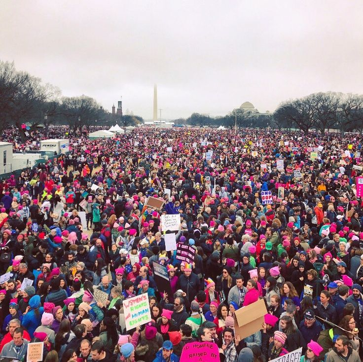 WHEN THE WOMEN'S MARCH IS BETTER THAN THE INAUGURATION