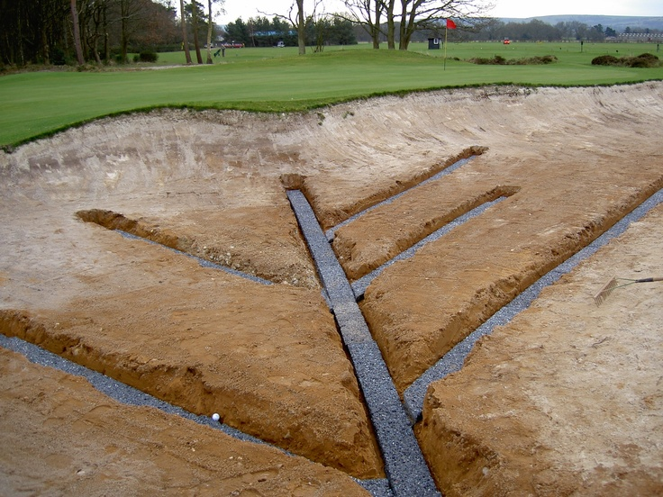 No More Puddles In Your Golf Course Bunkers Aquadyne