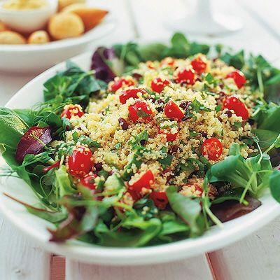 Pesilja, tomat, mynta och citron är de karaktäristiska smakerna för det goda tillbehöret med ursprung från Libanon.