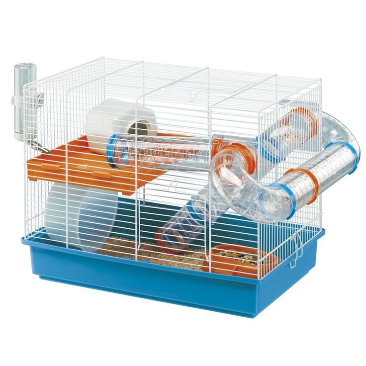 Ferplast Hamster Cage with Tubes & Accessories