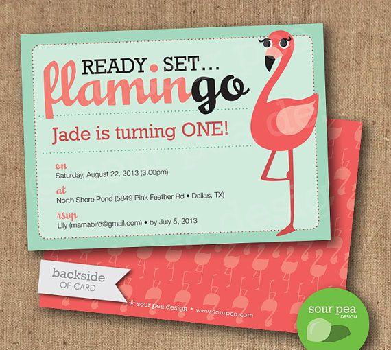 48 best Pink Flamingo Party ideas images – Flamingo Birthday Invitations