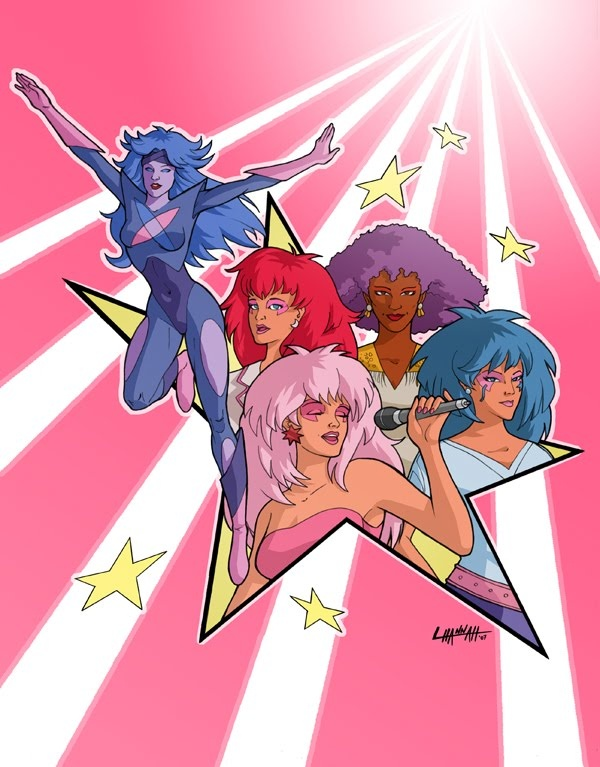 Jem & the holograms-oh yes, I still have a crush on Rio! :)