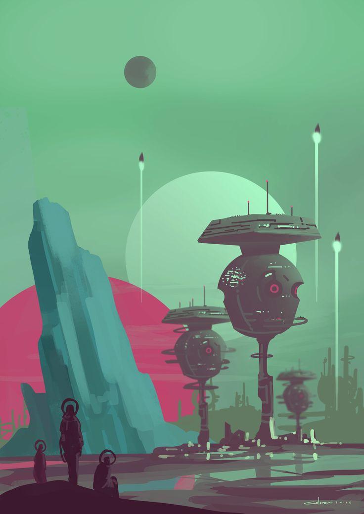 ArtStation - Scifi Environment, Armin Rangani