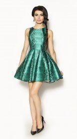 Rozkloszowana sukienka Model:EM-2112
