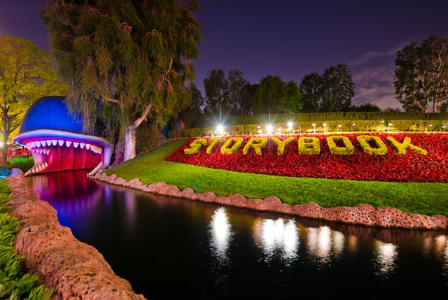 Storybook Land Canal Boats & Monstro from Best Disneyland Attractions - DisneyTouristBlog.com