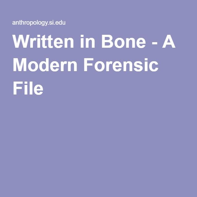 application of forensic archaeology essay Basically, forensic anthropology is the application of anthropology in forensics it is simply the marriage between anthropology and forensics generally, forensic anthropology is the assessment of the skeletal remains of human beings on behalf of the law enforcers in a bid to establish the identity of the bones (klepinger, 2006: p3.