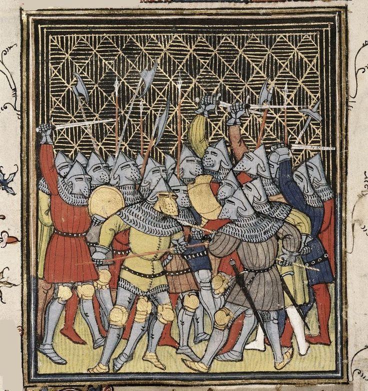 Chroniques de France ou de St Denis Robert Une bataille renouvelée