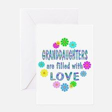 Granddaughter Greeting Card for