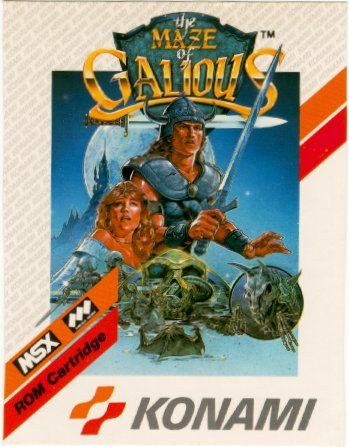 The Maze Of Galious (front euro version).