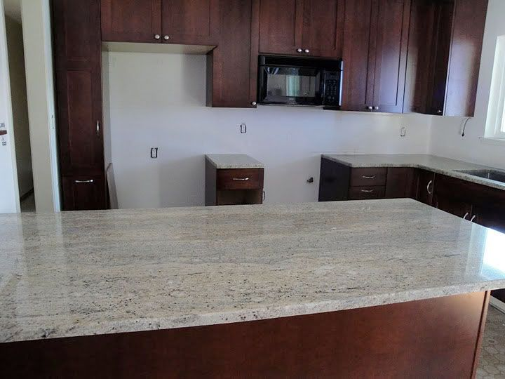 Caramel Color Kitchen Countertop