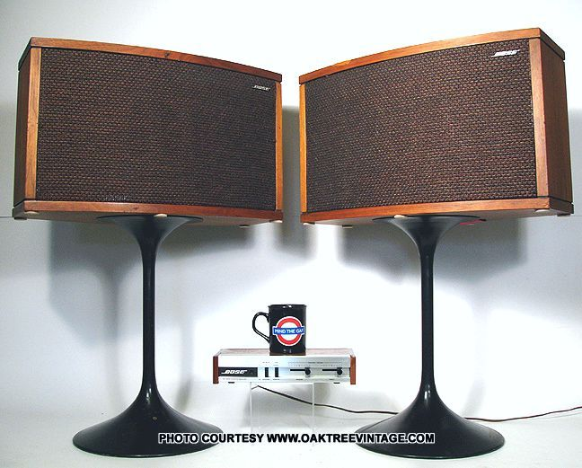 Bose 901s with great speaker stands.