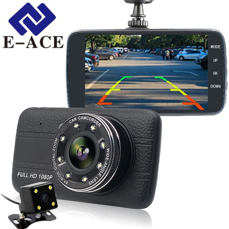 Cheaper US $35.09  E-ACE 4.0 Inch Dash Cam Rear View Mirror Camera Full HD 1080 P Car Dvr With Two Cameras Automotive Video Recorder Car Registrars  #EACE #Inch #Dash #Rear #View #Mirror #Camera #Full #Cameras #Automotive #Video #Recorder #Registrars  #Online