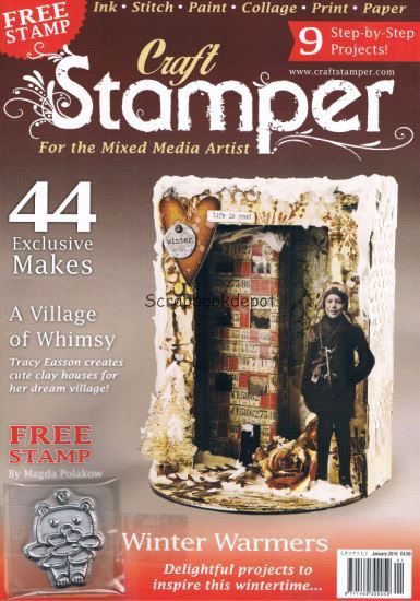 Craft Stamper January 2016