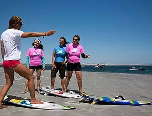 Women's Kitesurfing Wave Riding Retreat- Baja California-with KB4Girls. A week long retreat for kiteboarding women who want to learn and improve their wave riding skills. May 20 - May 27, 2017 or  May 27 - June 3, 2017