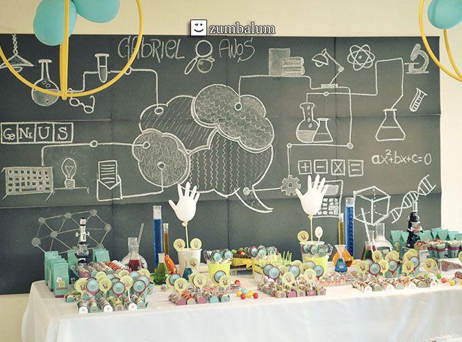 13 best festa infantil no tema cientista images on pinterest candy festa infantil no tema cientista com kit de decorao de festa da zumbalum mais fotos thecheapjerseys Image collections
