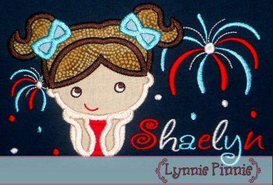 Patriotic Applique Embroidery Designs