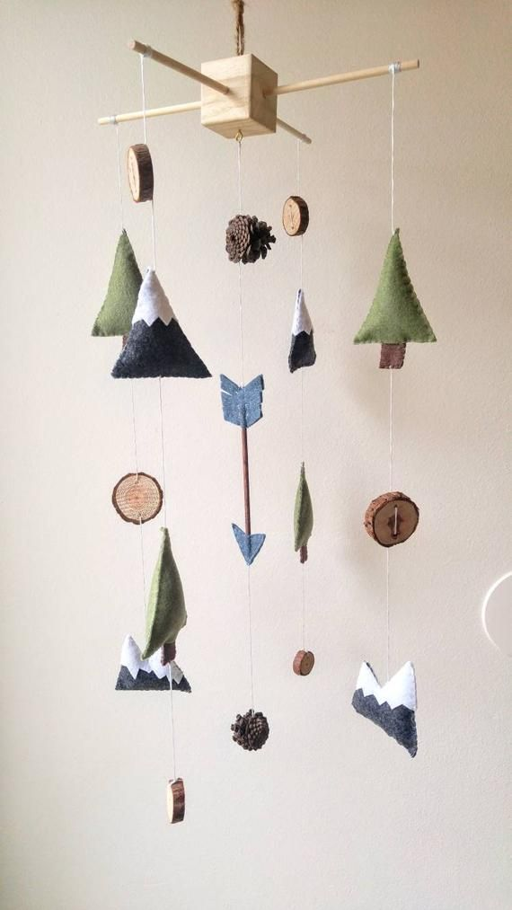 Mountain Adventure Baby Mobile Woodland Baby Mobile Etsy In 2020 Baby Boy Mobile Adventure Baby Room Adventure Baby