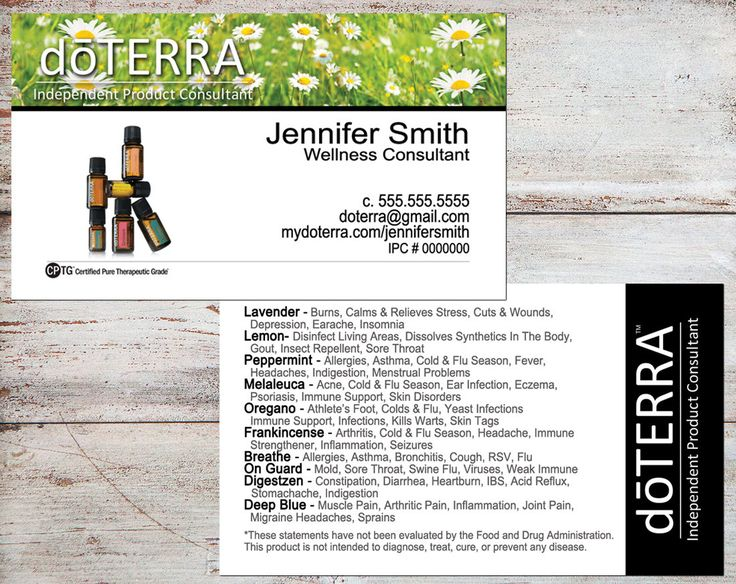 doTERRA Business Cards, doTERRA Sun Flowers, doTERRA Cards, Essential Oil Business Cards, Personalized Business Cards, Digital or Printed by toadallydigital on Etsy