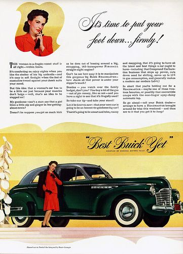 "1941 Buick Roadmaster Sedan ""Foot Down"" 