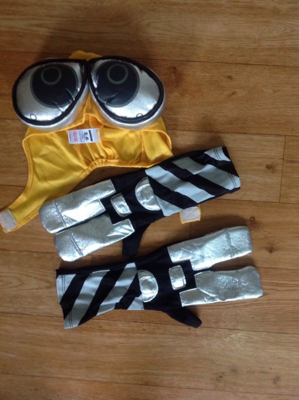 Disney Wall.E fancy dress costume 5-6 yrs