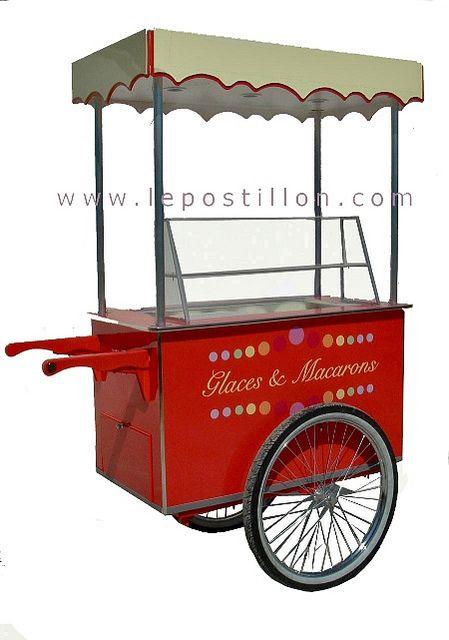Ice cream cart - Charrette à glace - Carretto gelati - Eis…   Flickr