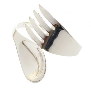 Silver Spork Spoon And Fork Napkin Ring Quick Info Price 2 95 This Quirky Will Be