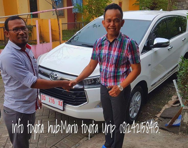 Serah Terima Kendaraan Innova Q M/T Luxury an Bpk Edy ,Info Pemesanan Toyota Hub: Mario Toyota Urip 081242158413