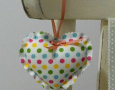 Inima decorativa SWEET DOTS