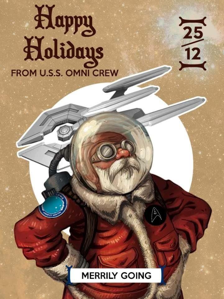 🖖 Diário de bordo,  USS OMNI.  Stardate: 2516122.0  Vamos à contagem regressiva para nossa mais nova MISSÃO, confirmando... apenas 2 dias para pouso!  A USS OMNI e USS PATHFINDERS buscam propiciar um Natal cheio de surpresas e muita positividade. Só estamos esperando as ordens do Capitão para acionar a dobra!   Qapla'!