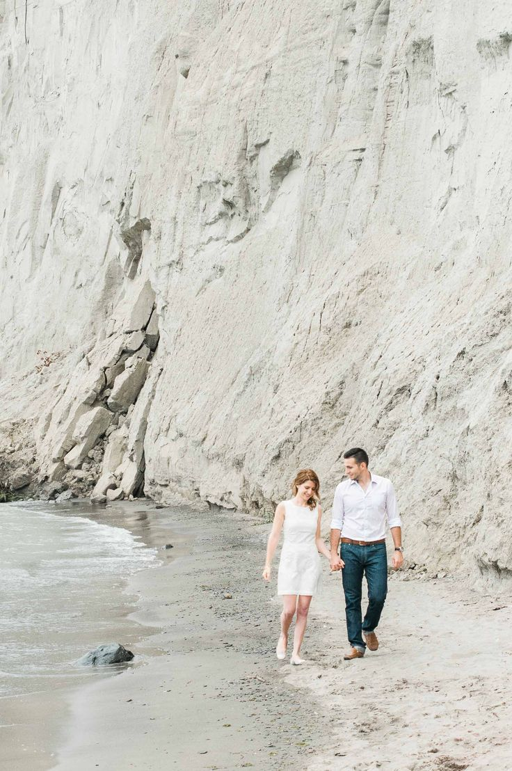 Scarborough Bluffs Engagement Session Photography
