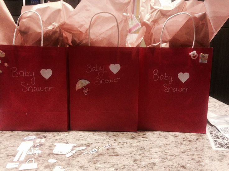 Bb shower goodie bags I made