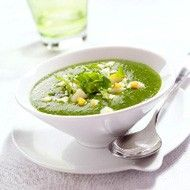 Recept Spinaziesoep met Avocado. Heerlijke vegetarische soep.