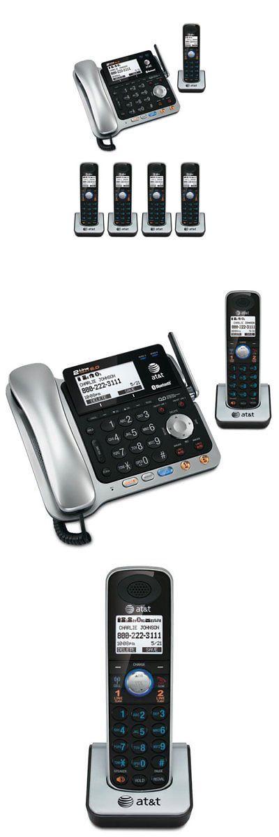 motorola smartphones atandamp t. corded cordless phone combos: atandt tl86109 dect 6.0 2-line bluetooth cord motorola smartphones atandamp t s