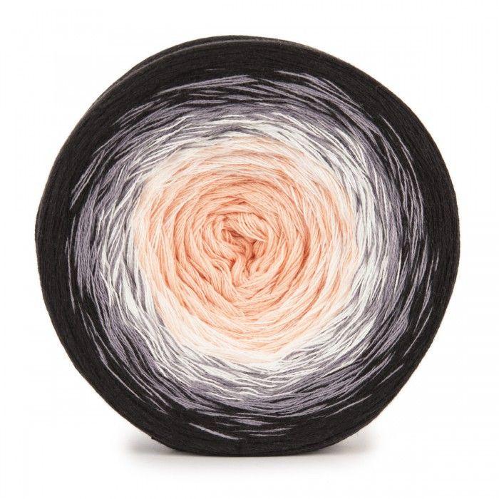 Grey gradient-bébé gâteau Fil 100 g 100/% Acrylique Laine à Tricoter Crochet DK